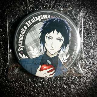 🍎🔪 Bungo Stray Dogs Dead Apple Bushiroad Akutagawa Ryunosuke Can Badge