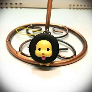 🚚 SANX 輪胎犬叮噹吊飾 日本絕版轉蛋輪胎狗