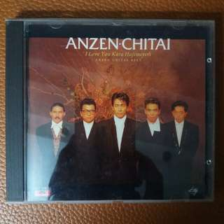 「CD」Anzen-Chitai ~ Anzen-Chitai Best (1988)