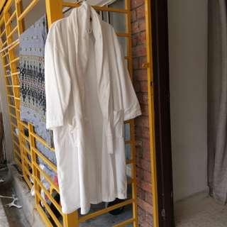 Ikea white bath robe