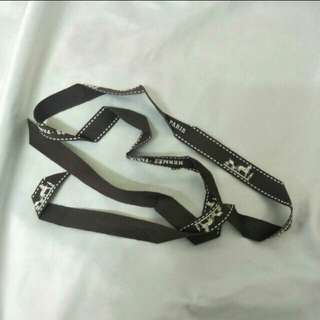 Authentic Hermes ribbon
