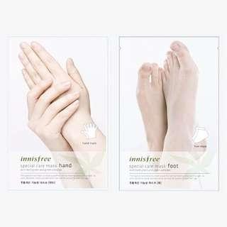 INNISFREE Special Cafe Mask (Hand/Foot/Elbow&Heel)
