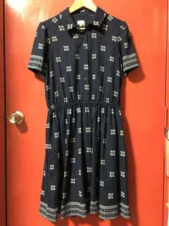 Final Sale! NW Vintage Style Dress with Slip