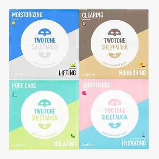 LANEIGE 2 Tone Sheet Mask