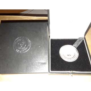 Malaysia 100th Anniversary of the World Association of Girl Guides and Girl Scouts Single Silver Proof Coin 2012