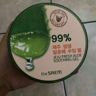 The saem jeju fresh aloe vera soothing gel 99%