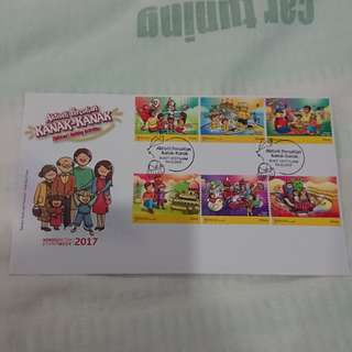 First day cover, sampul surat hari pertama
