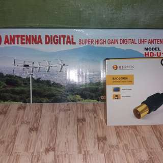 Antena digital plus kabel