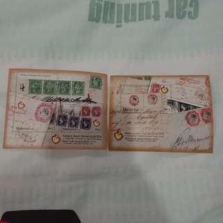 Miniature sheet 160 tahun penggunaan setem di malaysia