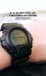 Casio G Shock DW-6900