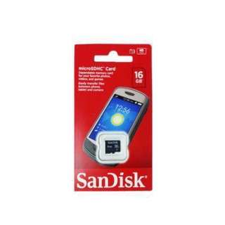Sandisk Class 4 Micro SD Memory Card