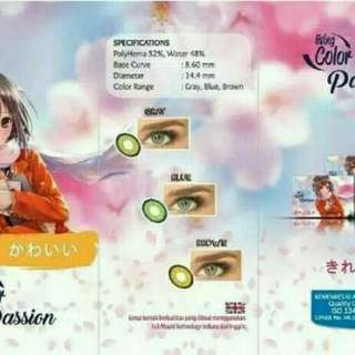 Softlens Living Colour Passion