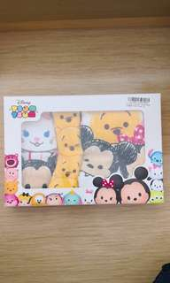 全新日本迪士尼景品Tsum Tsum毛巾 4件裝