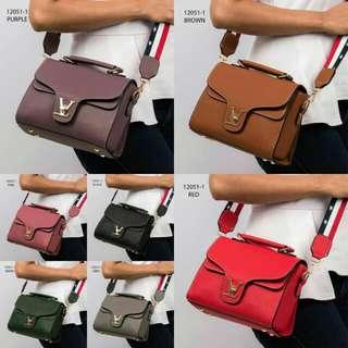 [FASHION BAG 12051-1] Tas Fashion Wanita Impor Murah