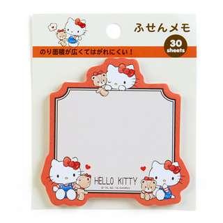 Sanrio 日本正版 Hello Kitty 告示貼 報事貼