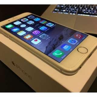 iPhone6 64GB gold mulus terawat fullset ori