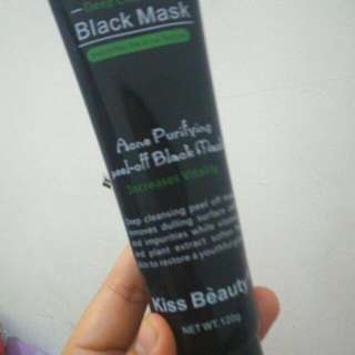 Masker black kiss beauty