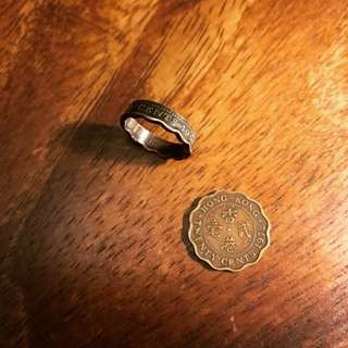 客人訂製 香港2毫戒指