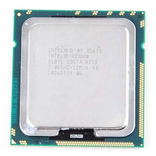 Intel X5675 xeon 3.06g 6 core LGA 1366 CPU