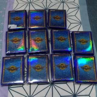11 Packs of Yugioh Blue Vrains Sleeve
