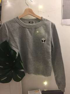 Sweater Alien Croptop