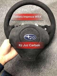 Subaru WRX Full Alcantara Steering