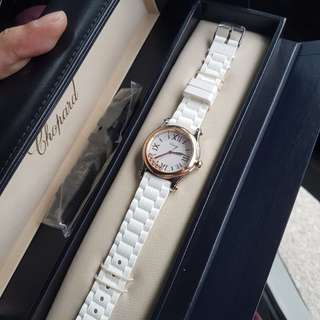 LUXURIOUS AUTHENTIC CHOPARD HAPPY SPORT WATCH