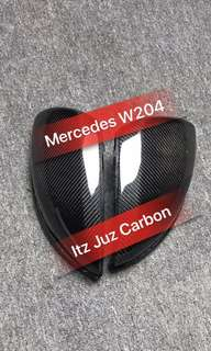 Mercedes W204 Carbon side mirror cover