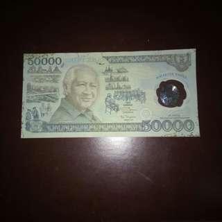 Rp. 50.000 Tahun 1993