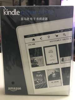 白色 Kindle Paperwhite 电子书阅读器 DP75SDI 簡體中文版