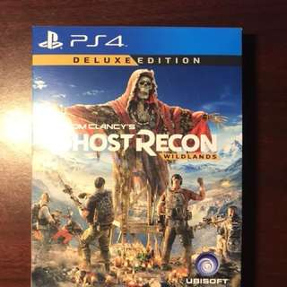 Ghost Recon Wildlands Deluxe Edition PS4 Like New