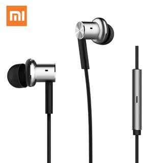New! Original Xiaomi Hybrid Earphone Mi Piston Pro Circle Iron earphone In-ear earbuds HIFI Stereo pro Earphone for iPhone 6 xiaomi