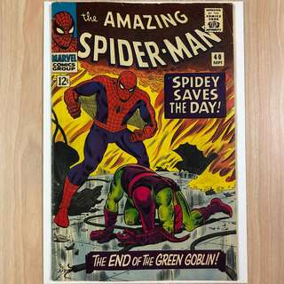 MARVEL COMICS The Amazing Spider-Man #40-Origin of Green Goblin (Serious Buyers Only)