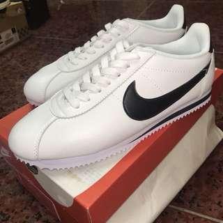 Nike 皮革 阿甘鞋 黑白
