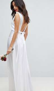 asos wedding dress gown prewedding dress