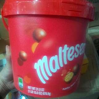 Maltesers bucket