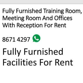 Training, Meeting Room & Office Rental