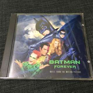 Batman forever soundtrack 港版CD