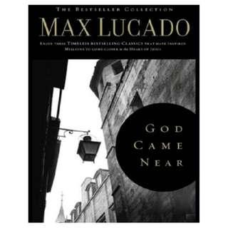 [eBook] God Came Near - Max Lucado