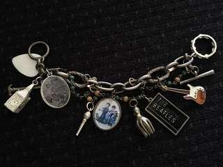 Beatles Chunky Charm Bracelet