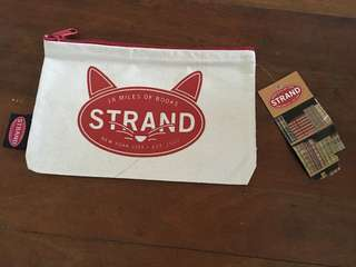 Canvas Pouch from New York's Strand Book Store