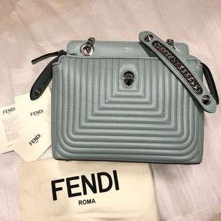 正全新Fendi dotcom click 斜背包側背包手提包經典包(可放長夾)