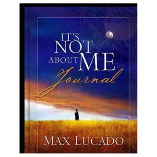 [eBook] It's Not About Me - Max Lucado
