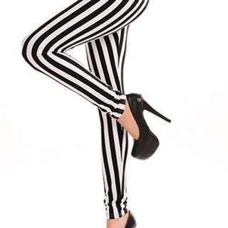 F21 Striped Statement Pants