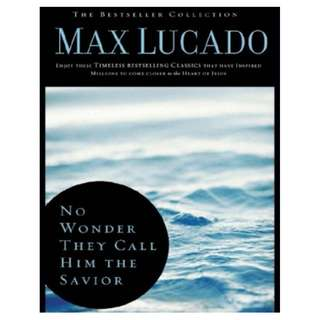 [eBook] No Wonder They Call Him the Savior - Max Lucado