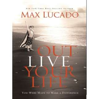 [eBook] Outlive Your Life - Max Lucado