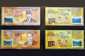 Limited Edition S G $50 notes (2 sets only)