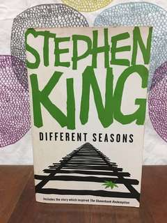 Recommended: Different Seasons by Stephen King