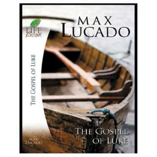 [eBook] The Gospel of Luke - Max Lucado