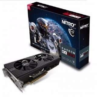 BRAND NEW SAPPHIRE NITRO+ RADEON RX 570 4GB DDR5